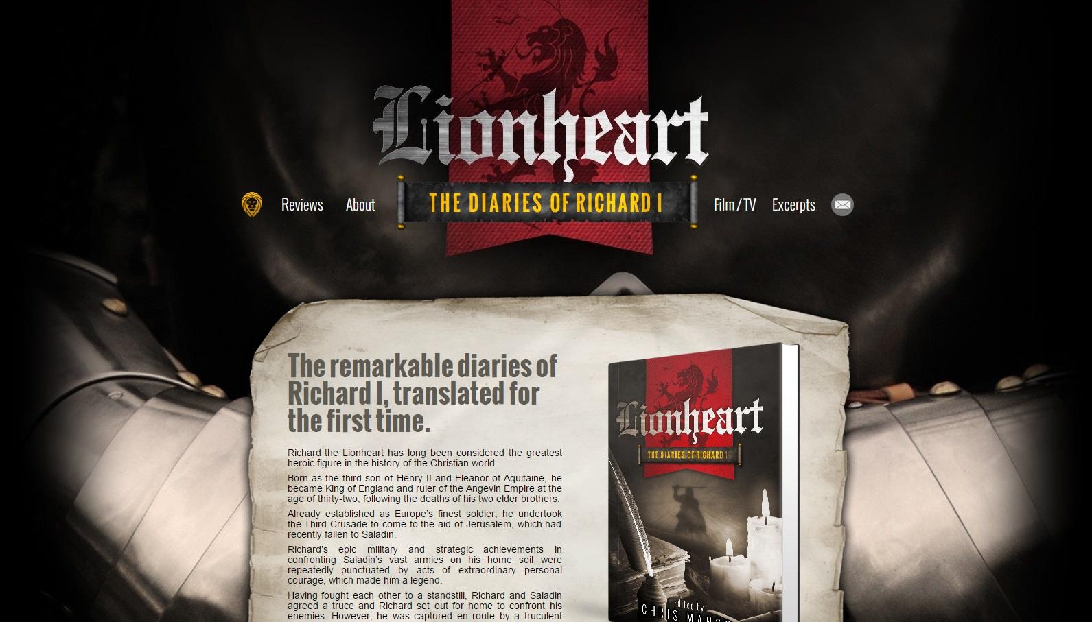 Lionheart - the hidden diaries of Richard I